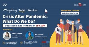[Event Recap] #MoneyDiary Talks: Crisis After Pandemic, What Do We Do?