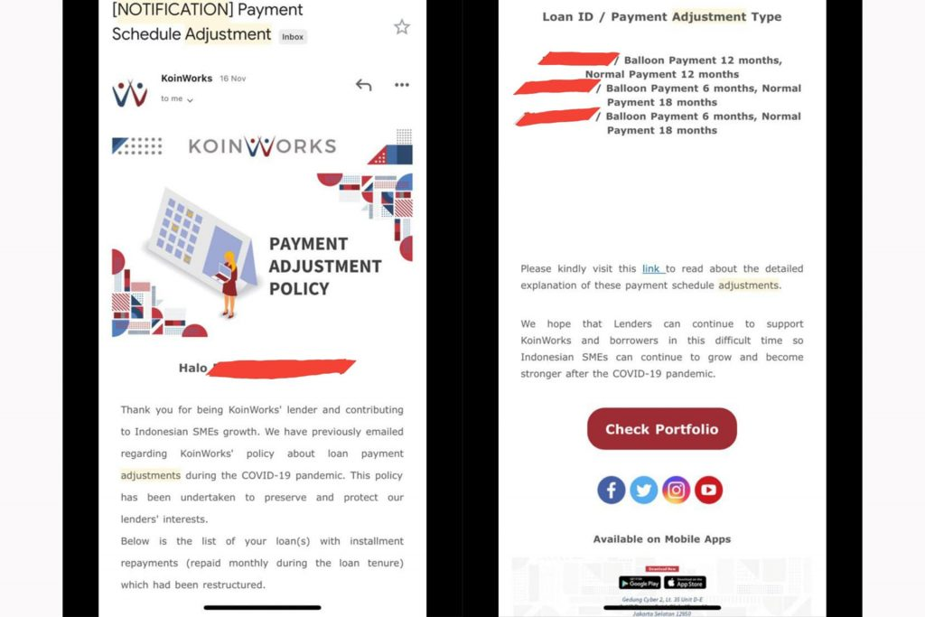 Loan Notif